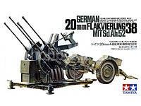 Зенитка 20mm FlaK38 1/35 TAMIYA 35091