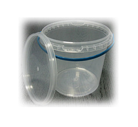 Ведро 1 л. пластиковое для пищевых продуктов   1000V