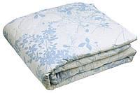 Шерстяное стеганое одеяло 200х220 облегченное (бязь)