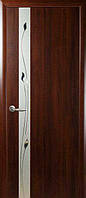 """Дверь """"ПВХ Deluxe"""" Злата ПВХ Р1"""