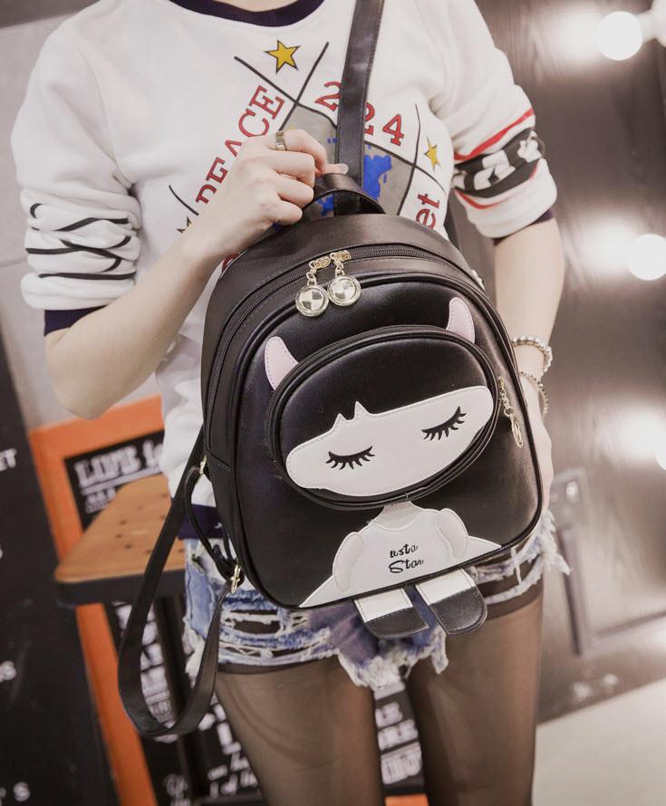 Милый городской рюкзак Katgirl, девочка