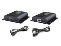 Комплект AVCom AVC715 Dbit передатчик и приемник HDMI сигнала через IP c  IR