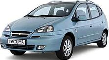 Защита двигателя на Chevrolet Tacuma (2002-2008)