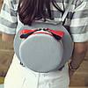 Сумка рюкзак трансформер в форме шляпы с бантиком, фото 3