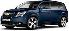 Защита двигателя на Chevrolet Orlando (c 2011---)