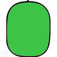 Фон на пружине Falcon 158х193см Зеленый (Chroma Key) В наличии на складе