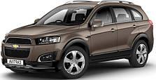 Защита двигателя на Chevrolet Captiva (2006-2019)