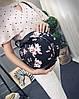 Сумка рюкзак, трансформер в форме элегантной шляпы с принтами, фото 3