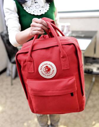 Вместительный тканевый рюкзак Red King Kong Унисекс, фото 2