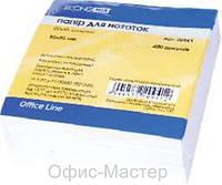 Бумага для записей 85*85 Economix 400л, белый не прокл.