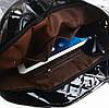 Большая лакированная стеганая сумка, фото 6