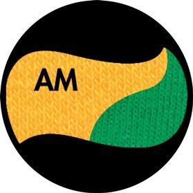 Цвет комбинированный  - Солнечно-жёлтый/Ярко-зелёный