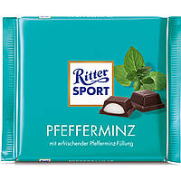 Шоколад Ritter Sport Pfefferminz Мята 100г (1уп/12шт)