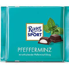 Шоколад Ritter Sport Pfefferminz Мята 100г