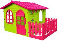 Mochtoys будиночок з тарасою XXL- рожевий