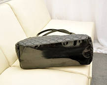 Большая стеганая, дутая сумка баула, фото 2
