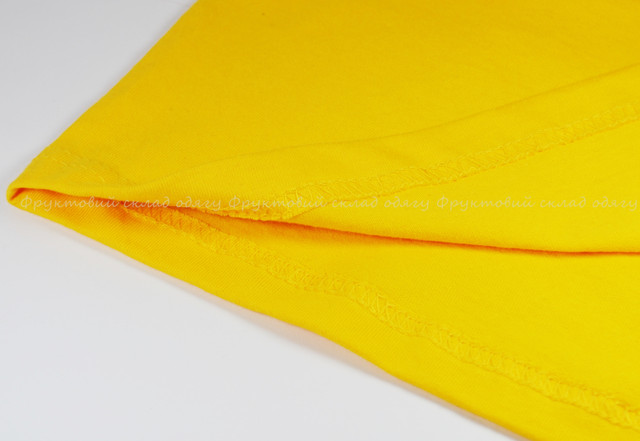 Мужская футболка комбинированная, Солнечно-жёлтый/ярко-зелёный