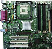 Материнская плата Intel D865GLC, s478, б\у