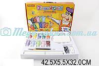 Пальчиковые краски Finger Paint: 12 цветов, ватман, кисть, карандаш