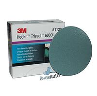 3M 51130 Абразивный полировальный круг Trizact Hookit P6000