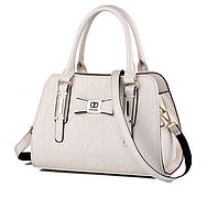 Каркасные деловые сумки с узором в стиле Chanel