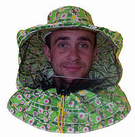 Маска пчеловода лицевая ткань ситец. Костюмы в ассотрименте