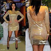 Женское платье с пайетками, фото 1