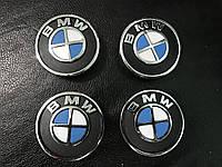 BMW X6 F-16 2014+ гг. Колпачки в титановые диски V1 (4 шт) 55 мм