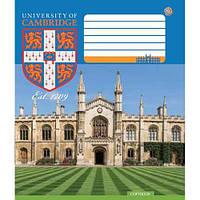 """Тетрадь школьная 18 листов/клетка """"CAMBRIDGE History"""", ЗУ 794044"""