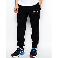 Спортивные штаны мужские с вышитыми логотипами