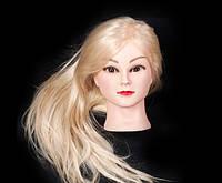Голова манекен для причесок и отработки навыков плетения, 55-60 см, белая
