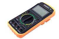 Цифровой мультиметр (тестер) DT9208A + щупы +крона