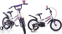 """Детский двухколесный велосипед Azimut Fiber-12"""",фиолетовый"""