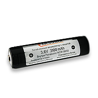 Аккумулятор Li-Ion Молния 18650 3100mAh (Panasonic)