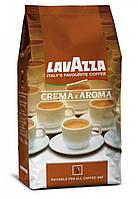 Кофе в зернах Lavazza Crema e Aroma 1кг зерновой кава 100% Робуста