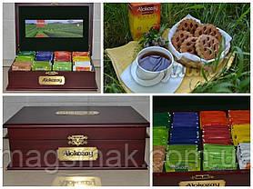 Чай Алокозай в деревянной шкатулке, 12 вкусов*12 пак., фото 3