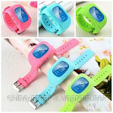 GW300 Smart Baby Watch Q50 детские смарт часы с трекером, красные, фото 3