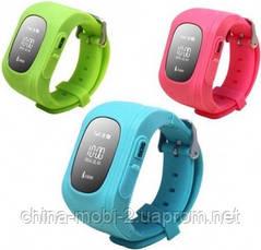 GW300 Smart Baby Watch Q50 детские смарт часы с трекером, красные, фото 2