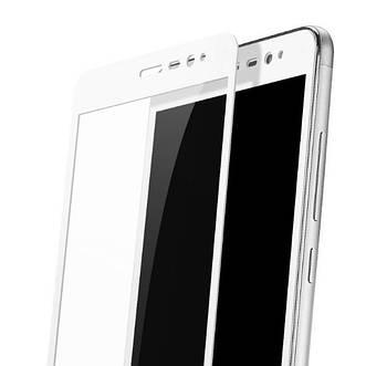 Full Cover защитное стекло для Xiaomi Redmi Note 3 / Redmi Note 3 Pro - White