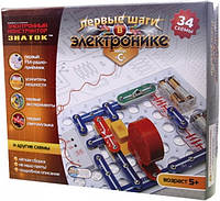 Электронный конструктор Знаток 34 схемы С