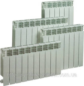 Биметаллический радиатор 500/80 heat line M-500ES