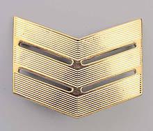 Лычка золотиста сержант
