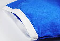 Мужская Футболка с Цветной Окантовкой Fruit of the loom Ярко-Синий/Белый 61-168-Kb Xl, фото 2