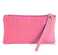 Косметичка лакированная Traum 7203-13 розовая