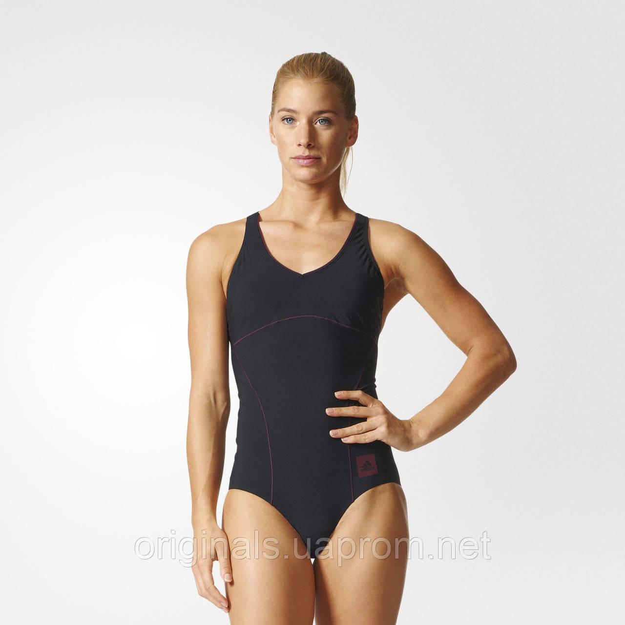 Спортивный купальник женский adidas Solid BP5428 - интернет-магазин Originals - Оригинальный Адидас, Рибок в Киеве