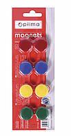 Магниты для досок 40мм 4шт/уп L2733 жовт.