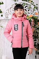 Курточка украинского производителя розовая