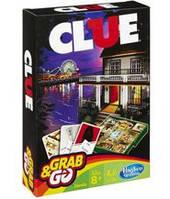 Клюэдо (Клуедо) компактная версия (Cluedo Travel) настольная игра