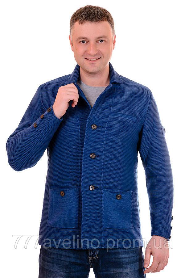 Пиджак мужской вязаный стильный кардиган : купить в ...