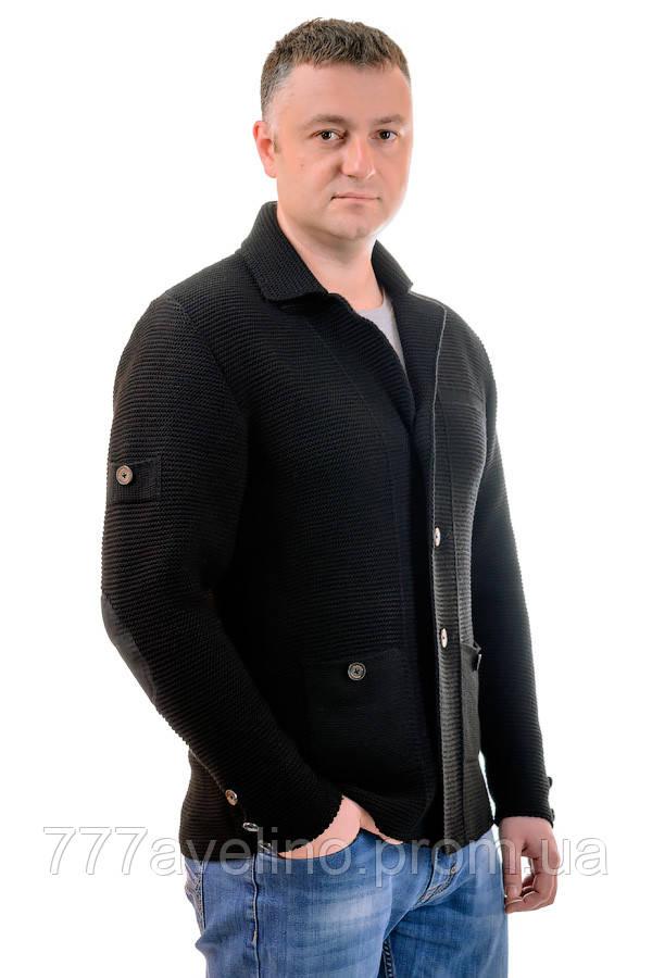 пиджак мужской вязаный стильный в категории пиджаки мужские на